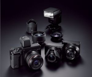 An Innovative Camera System with Interchangeable Units