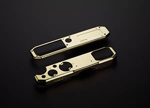 Beautifully crafted, genuine brass covers