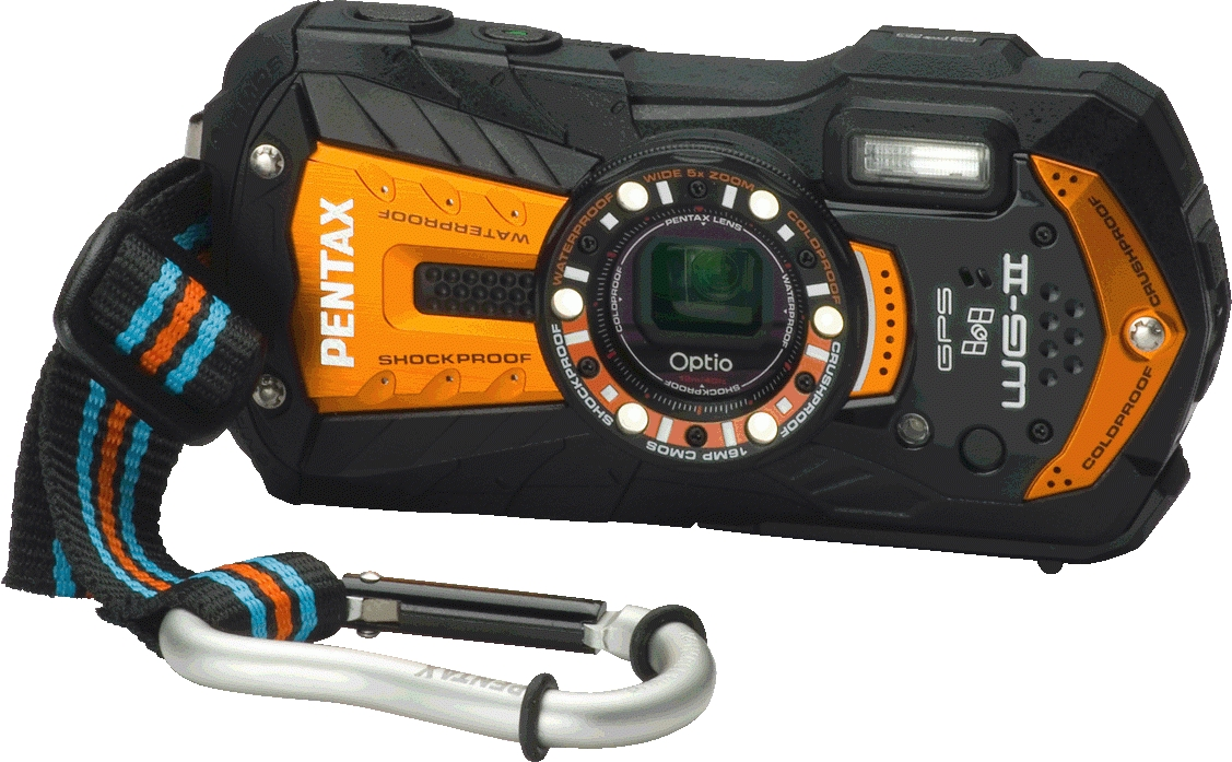 Optio WG-2 GPS Shiny Orange