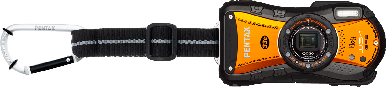 Optio WG-1 GPS Orange