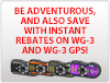 WG-3 Instant Rebate